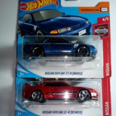 Coches a escala: HOT WHEELS- 3 NISSAN SKYLINE -MADE IN MALAYSIA. Lote 158840254