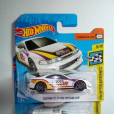 Coches a escala: HOT WHEELS- 2 HW SPEED GRAPHICS -MADE IN MALAYSIA. Lote 158843090