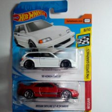 Coches a escala: HOT WHEELS- 3 CLASICOS JAPONESES -MADE IN MALAYSIA. Lote 158847914