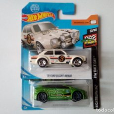 Coches a escala: HOT WHEELS- 2 FORD RS -70 ESCORT RS 1600 Y FOCUS RS. Lote 158849310