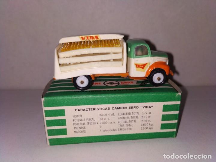 Coches a escala: Anguplas Minicars Mini Cars Ebro Vida. Difícil - Foto 6 - 159157546