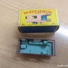 Coches a escala: TRAILER CARAVAN DE MATCHBOX Nº 23 CON CAJA. Lote 159250246