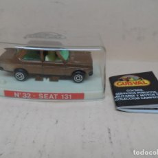 Coches a escala: GUISVAL 1/64 SEAT 131 Nº32 MARRÓN. Lote 159868882