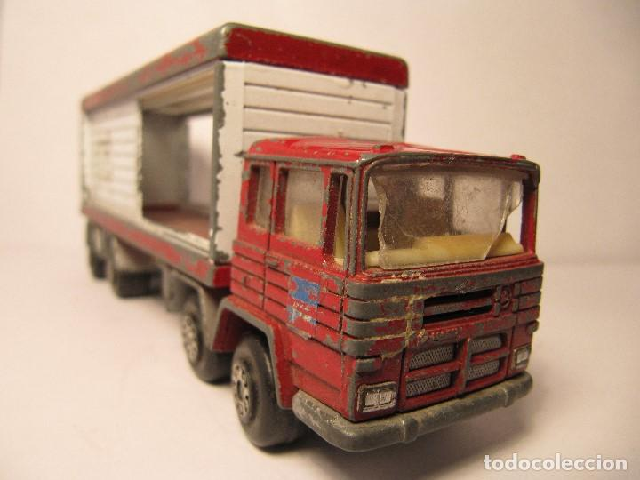 CAMION PEGASO DE MIRA TRANSPORTES INTERNACIONALES ESCALA 1:64 MADE IN SPAIN AÑOS 70 (Juguetes - Coches a Escala Otras Escalas )