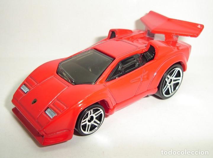 Lamborghini Countach Custom Rojo Hot Wheels Esc Buy Model Cars At