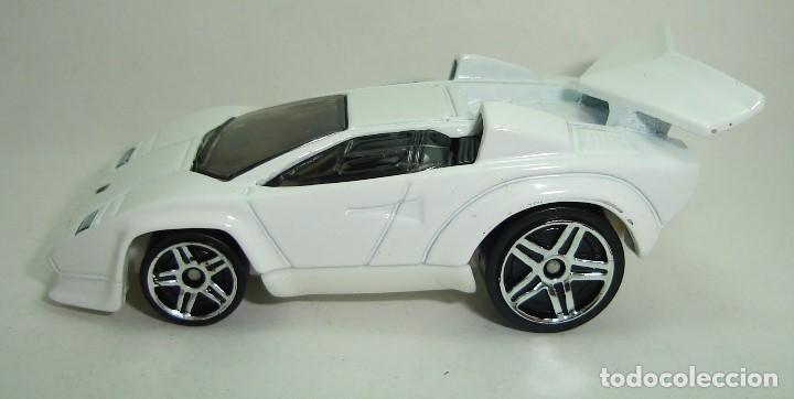 Lamborghini Countach Custom Blanco Hot Wheels E Buy Model Cars At