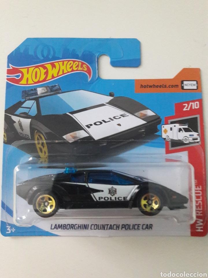 Hot Wheels Lamborghini Countach Police Car Buy Model Cars At Other
