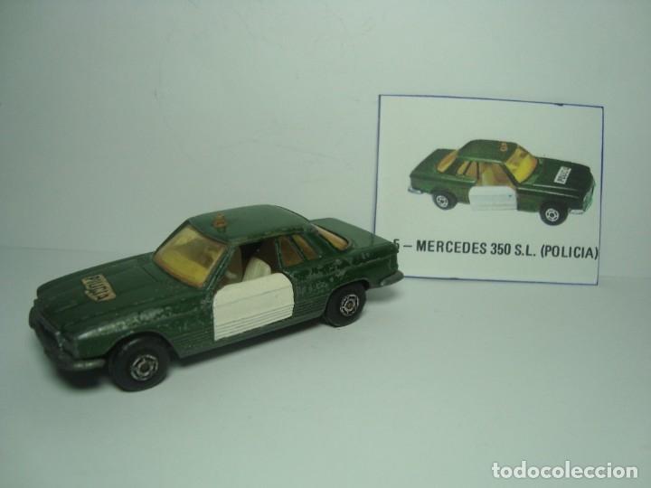 MERCEDES BENZ 350 SL POLICIA GUARDIA CIVIL DE GUISVAL CAMPEON 1,64