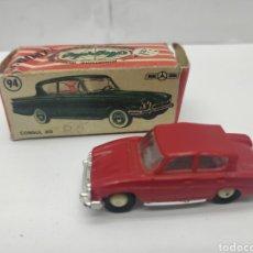 Coches a escala: MINI CARS ANGUPLAS 94 - REF: N°30 SERIE GB - DIVISION TURISMOS CÓNSUL 315. Lote 162570228