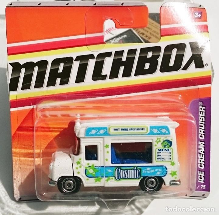 MATCHBOX MBX ICE CREAM CRUISER COSMIC (Juguetes - Coches a Escala Otras Escalas )