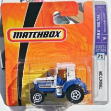 Coches a escala: 2008 MATCHBOX MBX METAL Nº 71 TRACTOR. Lote 153745350