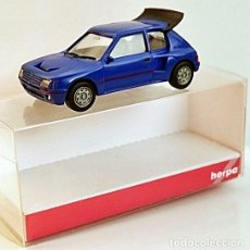 Coches a escala: 1/87 HO HERPA PEUGEOT 205 TURBO. Lote 153891950
