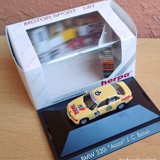 Coches a escala: 1/87 HO HERPA RACING BMW 320 ACCOR J.C.BASSO. Lote 153962958