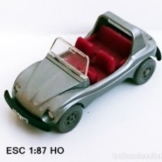 Coches a escala: WIKING - VOLKSWAGEN BUGGY / GRIS. Lote 154457594