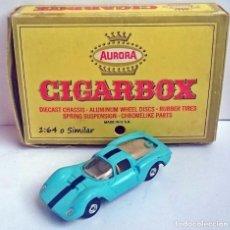 Coches a escala: AURORA CIGAR BOX REF 6111 FERRARI DINO - MADE IN USA. Lote 93614025