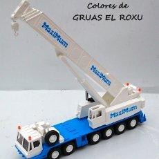 Coches a escala: WIKING REF 632 01 43 GROBE AUTOKRAN - GRÚA 1/87 HO. Lote 153891346