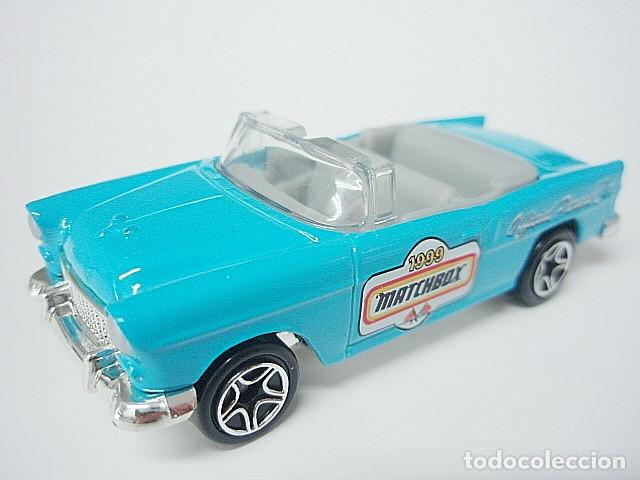MATCHBOX MB359 46 CHEVROLET BEL AIR CONVERTIBLE DEL 1955 (Juguetes - Coches a Escala Otras Escalas )