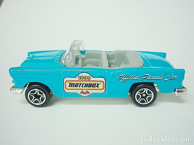 Coches a escala: MATCHBOX MB359 46 CHEVROLET BEL AIR CONVERTIBLE DEL 1955 - Foto 3 - 195376867
