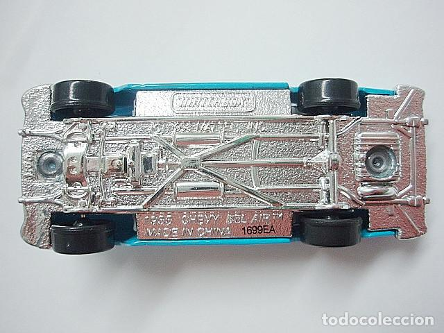 Coches a escala: MATCHBOX MB359 46 CHEVROLET BEL AIR CONVERTIBLE DEL 1955 - Foto 4 - 195376867