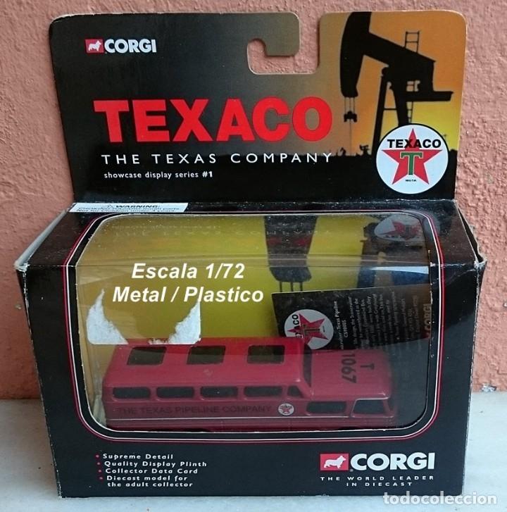 Coches a escala: ESCASO CORGI SERIE TEXACO SCENICRUISER TEXAS PIPELINE COMPANY - Foto 10 - 97998219