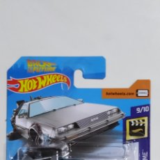 Voitures à l'échelle: HOT WHEELS BACK TO THE FUTURE TIME MACHINE HOVER MODE 2019. Lote 204841446