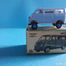 Coches a escala: FURGONETA DKW COMBI 11-E Nº 28 MINICARS ANGUPLAS MINI CARS. Lote 164730402