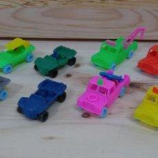 Auto in scala: LOTE 12 COCHES PLÁSTICO TODO TERRENO LAND ROVER MARCA RUIZ Y BUGGIE COCHE TIPO BARATIJA DE KIOSKO. Lote 164788418