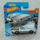 Coches a escala: REGRESO AL FUTURO HOT WHEELS DELOREAN. Lote 165115717
