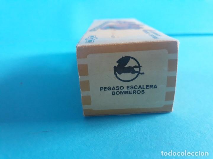 Coches a escala: PEGASO ESCALERA BOMBEROS nº 72 MINICARS ANGUPLAS MINI CARS - Foto 5 - 165759958