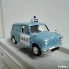 Coches a escala: AUSTIN MIN VAN ,POLICE , BREKINA REF .15355 ,ESCALA 1/87. Lote 165800014
