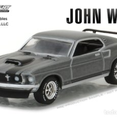 Coches a escala: FORD MUSTANG BOSS 429 JOHN WICK (1969) GREENLIGHT 1/64. Lote 194288258