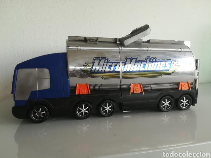 Coches a escala: Camion ciudad micromachines coche hasbro 2001 - Foto 2 - 166404146