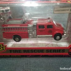 Coches a escala: ROAD CHAMPS 1996, FIRE RESCUE SERIES, ESCALA 1/64. METAL Y PLÁSTICO. Lote 166608154