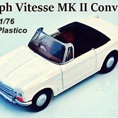 Coches a escala: EFE - TRIUMPH VITESSE MK II CONVERTIBLE. Lote 154456938