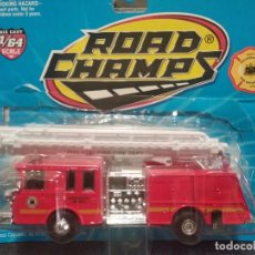 Coches a escala: ROAD CHAMPS 1997 DIE CAST FIRE RESCUE, 1/64. PHILADELPHIA FIRE DEPT. Lote 166668222