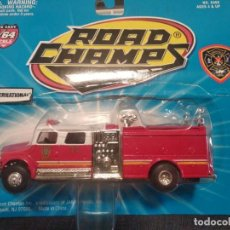 Coches a escala: ROAD CHAMPS 1997, FIRE RESCUE SERIES, ESCALA 1/64. LOUISVILLE. Lote 166668606
