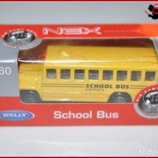 Coches a escala: TX 302 COCHES ESCALA 1:60 - WELLY NEX - SCHOOL BUS AUTOBUS ESCOLAR. Lote 166832272