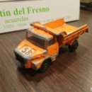 Coches a escala: MAJORETTE SCANIA CAMIÓN VOLQUETE 1/100 MADE IN FRANCE. Lote 167046577