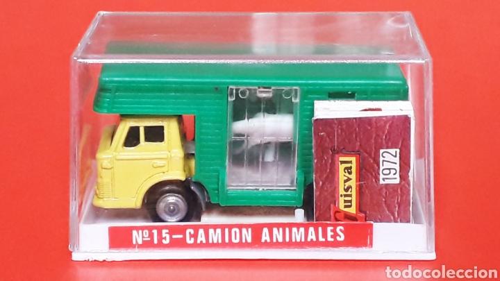 CAMIÓN FORD ANIMALES CABALLOS REF. 15, ESC. 1/87 H0, GUISVAL IBI MADE IN SPAIN, ORIGINAL AÑO 1972. (Juguetes - Coches a Escala Otras Escalas )