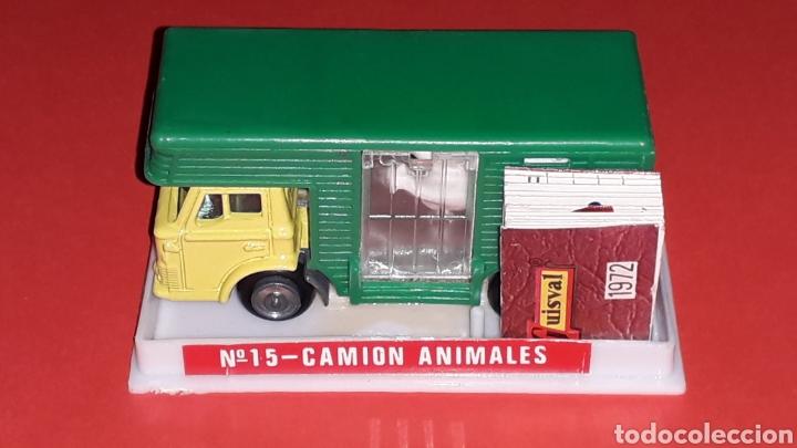 Coches a escala: Camión Ford animales caballos ref. 15, esc. 1/87 H0, Guisval Ibi made in Spain, original año 1972. - Foto 2 - 176421214