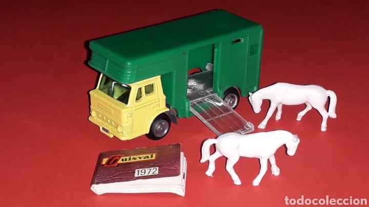 Coches a escala: Camión Ford animales caballos ref. 15, esc. 1/87 H0, Guisval Ibi made in Spain, original año 1972. - Foto 3 - 176421214
