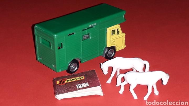 Coches a escala: Camión Ford animales caballos ref. 15, esc. 1/87 H0, Guisval Ibi made in Spain, original año 1972. - Foto 4 - 176421214