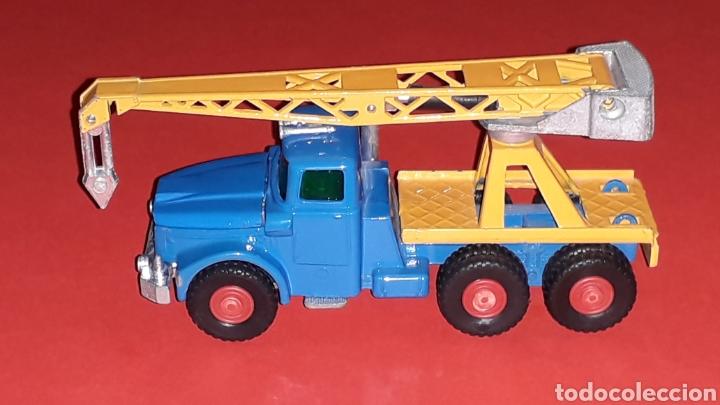 Coches a escala: Camión Scammell grúa, metal, esc. aprox. 1/64, Guisval Ibi made in Spain, original años 70. - Foto 2 - 167075540