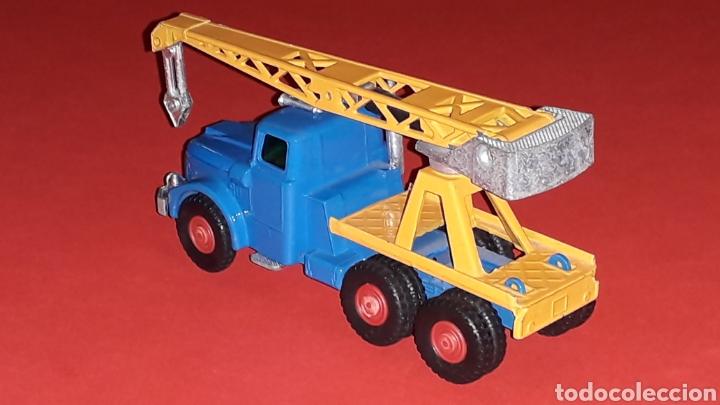Coches a escala: Camión Scammell grúa, metal, esc. aprox. 1/64, Guisval Ibi made in Spain, original años 70. - Foto 3 - 167075540