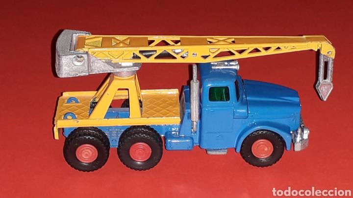 Coches a escala: Camión Scammell grúa, metal, esc. aprox. 1/64, Guisval Ibi made in Spain, original años 70. - Foto 5 - 167075540