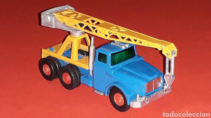 Coches a escala: Camión Scammell grúa, metal, esc. aprox. 1/64, Guisval Ibi made in Spain, original años 70. - Foto 6 - 167075540