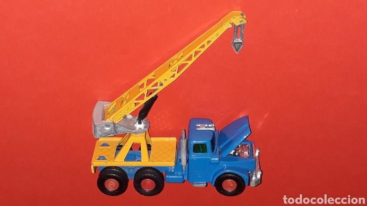Coches a escala: Camión Scammell grúa, metal, esc. aprox. 1/64, Guisval Ibi made in Spain, original años 70. - Foto 7 - 167075540