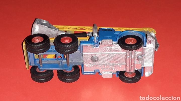 Coches a escala: Camión Scammell grúa, metal, esc. aprox. 1/64, Guisval Ibi made in Spain, original años 70. - Foto 8 - 167075540