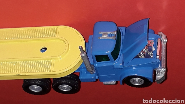 Coches a escala: Camión Scammell con plataforma, metal, esc. aprox. 1/64, Guisval Ibi made in Spain, original años 70 - Foto 8 - 167075768
