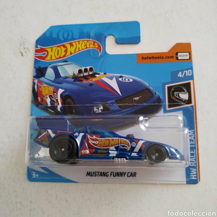 HOT WHEELS MUSTANG FUNNY CAR -HW RACE TEAM 4/10